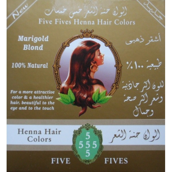 Five Fives, Henna Lamda zlatá, 100 g