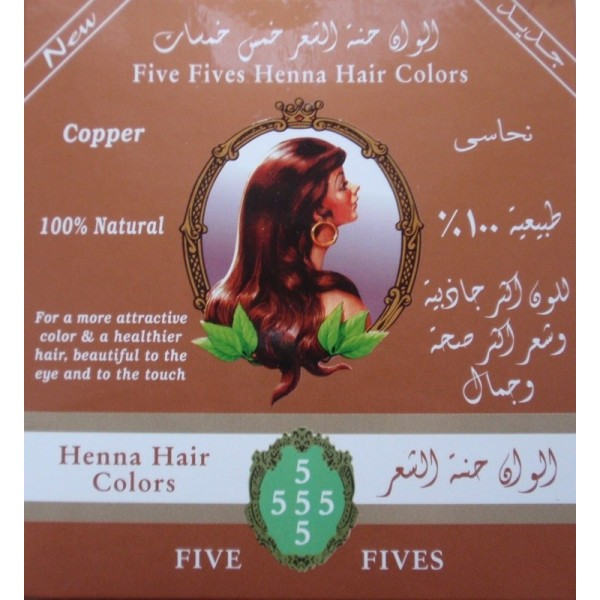 Five Fives, Henna Lamda medená, 100 g
